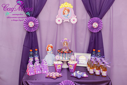 Кэнди бар в стиле Принцесса София