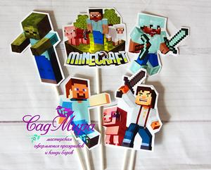 Оформления дня рождения с героями мультфильмов