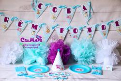 День рождения в стиле Совушки