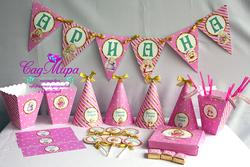 День рождения в стиле Зайка Ми для девочки