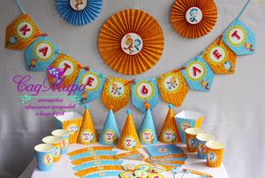 Популярная тема для украшения дня рождения - Фиксики.